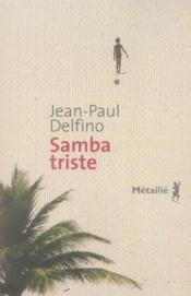 Samba triste - Couverture - Format classique