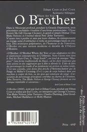 O Brother Where Art Thou - 4ème de couverture - Format classique