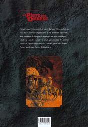 La piste des ombres t.1 ; pierres brûlantes - 4ème de couverture - Format classique