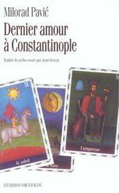 Dernier amour a constantinople - Intérieur - Format classique