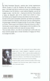 Dernier amour a constantinople - 4ème de couverture - Format classique