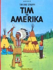Tim und Struppi t.3 ; Tim in Amerika - Intérieur - Format classique