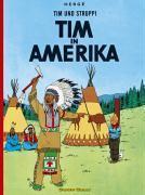 Tim und Struppi t.3 ; Tim in Amerika - Couverture - Format classique