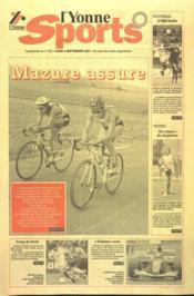 Yonne Sports (L') N°203 du 03/09/2001 - Couverture - Format classique