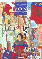 L'Histoire De Lyon En Bd T.1 ; De L'Epoque Romaine A La Renaissance - Intérieur - Format classique