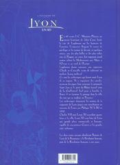 L'Histoire De Lyon En Bd T.1 ; De L'Epoque Romaine A La Renaissance - 4ème de couverture - Format classique