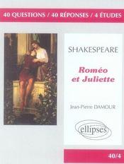 Roméo et Juliette de Shakespeare - Intérieur - Format classique