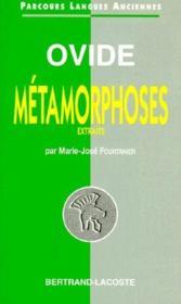 Les métamorphoses - Couverture - Format classique