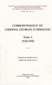 Correspondance De Georges D Armagnac - Intérieur - Format classique