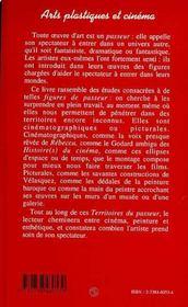 Arts Plastiques Et Cinema ; Les Territoires Du Passeur - 4ème de couverture - Format classique