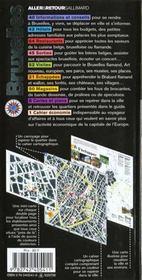 Bruxelles (Belgique) - 4ème de couverture - Format classique