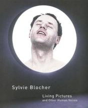 Living Pictures And Other Human Voices - Couverture - Format classique