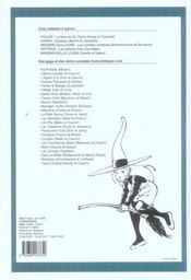 Recueil spirou t.287 - 4ème de couverture - Format classique