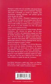 Fati - 4ème de couverture - Format classique