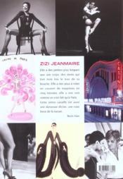 Zizi Jeanmaire - 4ème de couverture - Format classique