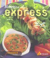 Recettes Express - Intérieur - Format classique