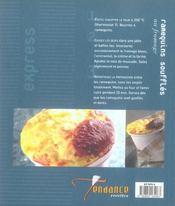 Recettes Express - 4ème de couverture - Format classique