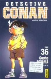 Detective Conan T36 - Couverture - Format classique