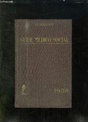 Guide Medico Social 1938. - Couverture - Format classique