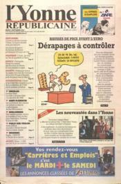 Yonne Republicaine (L') N°204 du 04/09/2001 - Couverture - Format classique