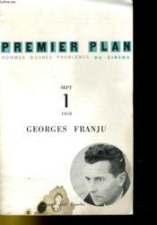 Premier Plan - Sept 1 - Georges Franju - Couverture - Format classique