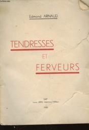 Tendressees Et Ferveurs - Couverture - Format classique