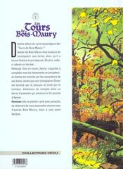 Les tours de Bois-Maury t.10 ; Olivier - 4ème de couverture - Format classique