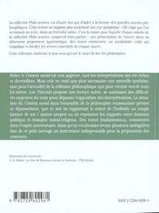 Du Contrat Social Rousseau - 4ème de couverture - Format classique