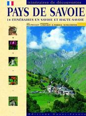 Pays de savoie - Intérieur - Format classique
