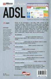 E-poche adsl -e2 - 4ème de couverture - Format classique