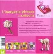 L'imagerie photos des saisons - 4ème de couverture - Format classique