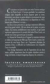 Manuel de Gomorrhe ; l'île aux dames - 4ème de couverture - Format classique