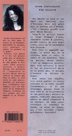 La Poisse - 4ème de couverture - Format classique