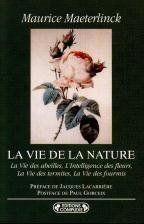 La vie de la nature - Couverture - Format classique
