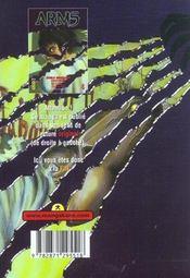 Arms t.4 - 4ème de couverture - Format classique