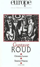 Europe Gustave Roud 882 - Octobre 2002 - Intérieur - Format classique