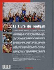 Le Livre Du Football (edition 2006 - 4ème de couverture - Format classique