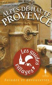 Alpes de haute Provence - Couverture - Format classique