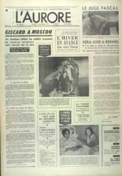 Aurore (L') N°9673 du 14/10/1975 - Couverture - Format classique