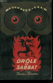 Drole De Sabbat ! Collection Detective Club N° 41 - Couverture - Format classique