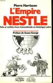 L' Empire Nestlé - Couverture - Format classique