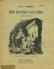 Per Diverti Lo Gen. Chansous Limouzinas - Couverture - Format classique