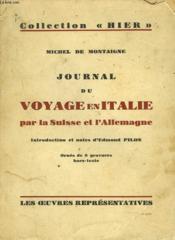 Journal De Voyage En Italie Par La Suisse Et L'Allemagne. - Couverture - Format classique