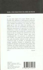 Schizo babel 307 - 4ème de couverture - Format classique