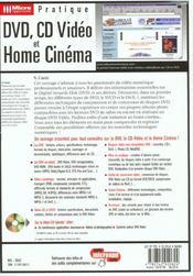 Dvd,cd video & homecinema -e2 - 4ème de couverture - Format classique