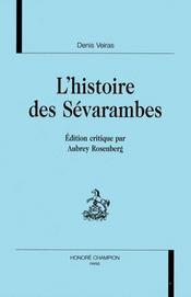 L'histoire des sevarambes - Intérieur - Format classique