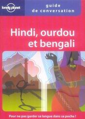 Vente livre :  Guide de conversation hindi, ourdou et bengali  - Richard Delacy