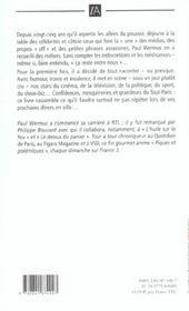 On M'A Dit De Ne Pas Le Dire - 4ème de couverture - Format classique