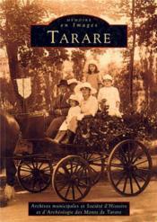 Tarare - Couverture - Format classique