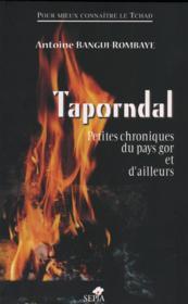 Taporndal ; petites chroniques du pays gor et d'ailleurs - Couverture - Format classique